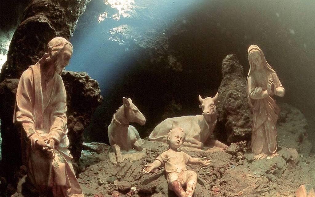 Presepe subacqueo della Grotta dello Smeraldo (Amalfi)