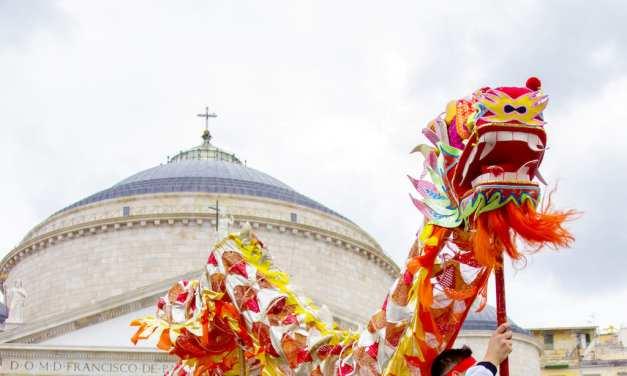 Napoli festeggia il Capodanno Cinese 2020, anno del Topo