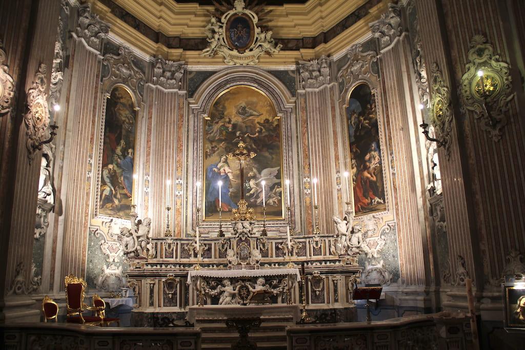 Chiesa della Nunziatella altare maggiore