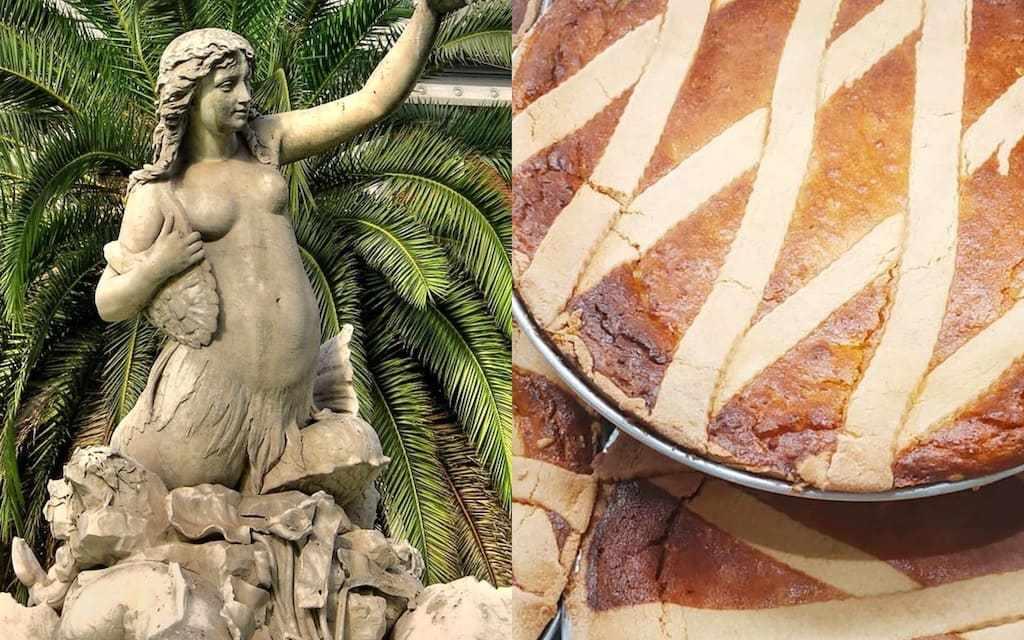 Leggenda della pastiera napoletana e della sirena Partenope