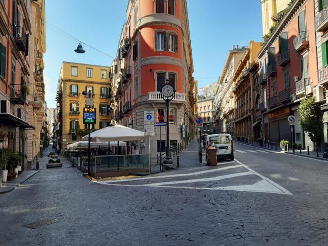 Via Filangieri Napoli