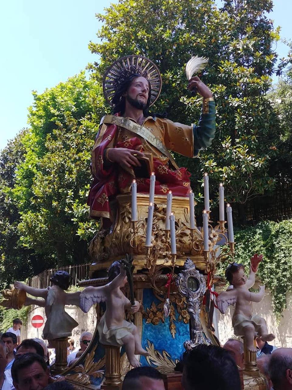 Processione di Santo Strato a Posillipo