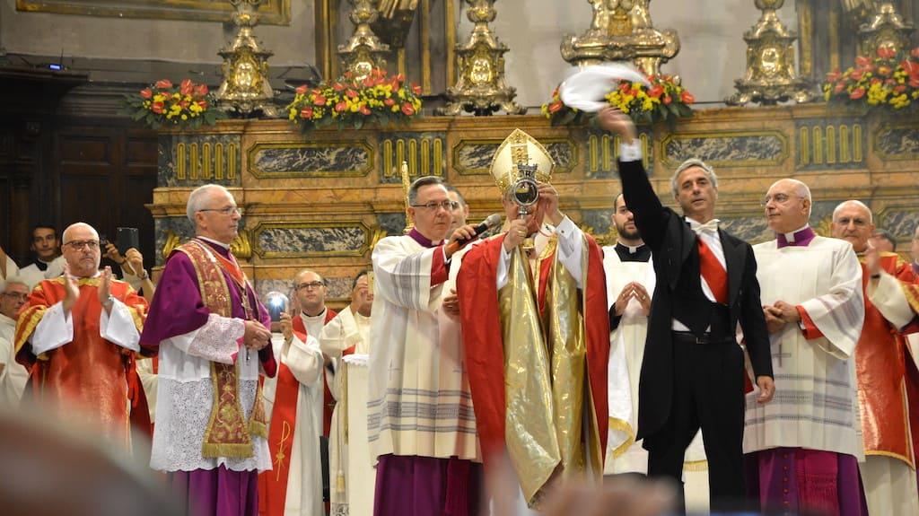 San Gennaro e il miracolo francese