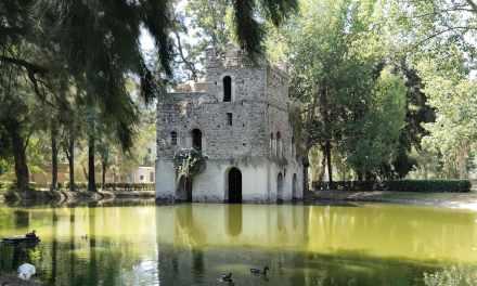 Laghetto di Fasilides e castello di Gondar, Mostra d'Oltremare Napoli