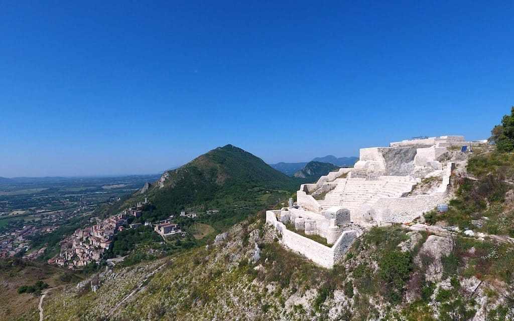 Teatro-tempio di Pietravairano, un gioiello in provincia di Caserta