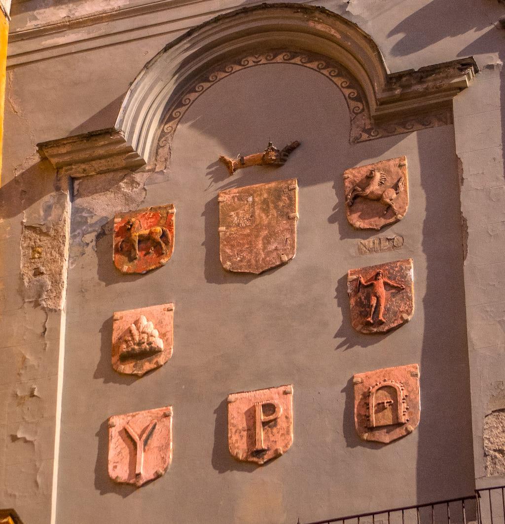 I sedili di Napoli San Lorenzo Maggiore