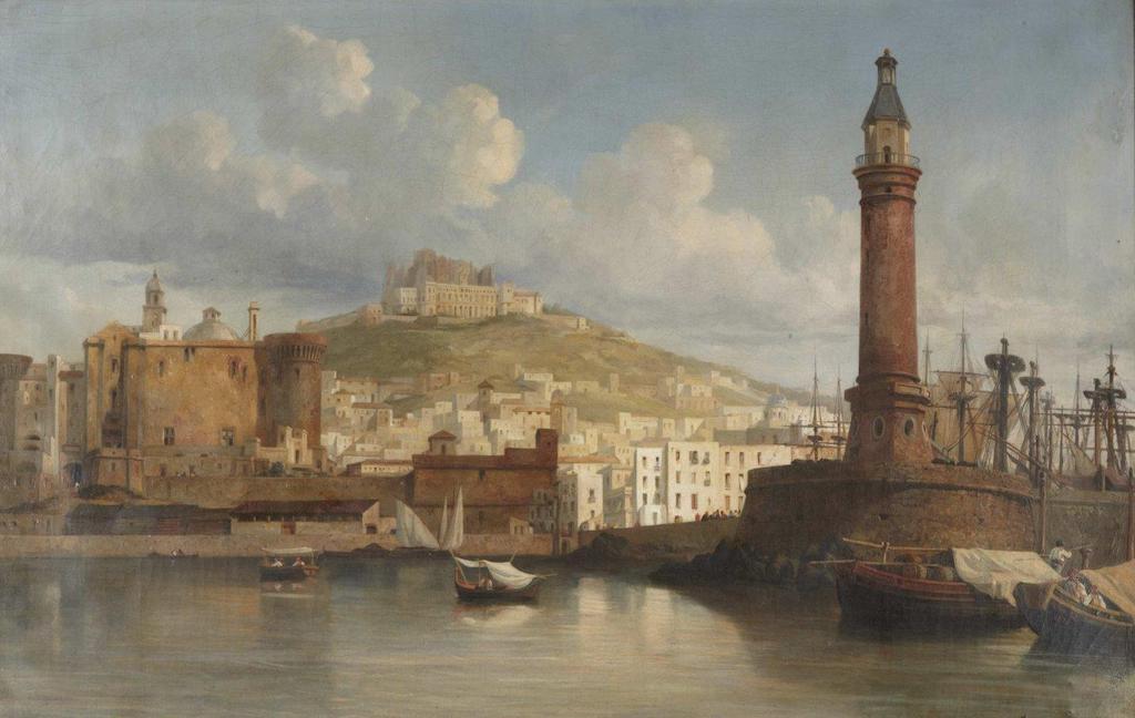 Lanterna del Molo (Jacques Guiaud 1838)