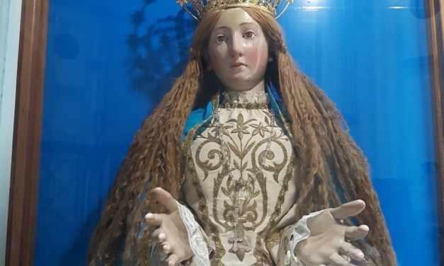 La Madonna dalle scarpette consumate della Reale Casa dell'Annunziata