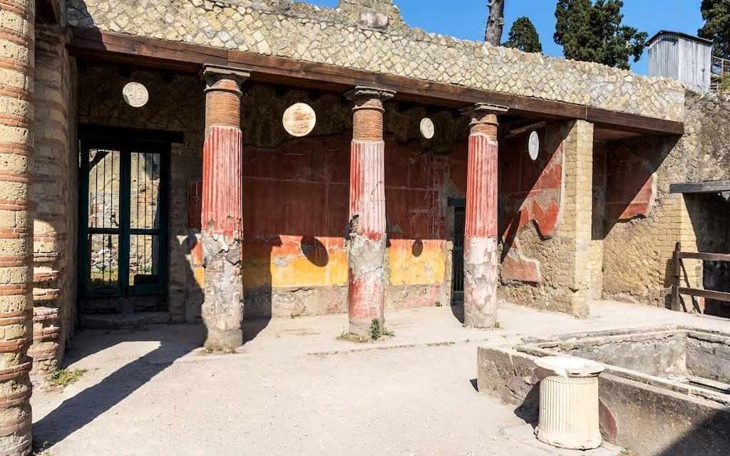 Close-Up al Parco Archeologico di Ercolano, visite alle domus in corso di restauro