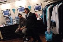 Nuovo negozio del Napoli innaugurato con il Pocho (6)