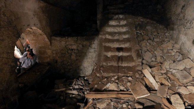 acquedotto romano sotto la sanità di napoli