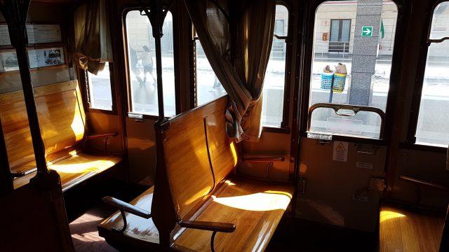 Trem histórico de Nápoles pra Caserta
