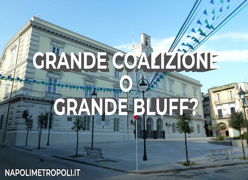 """AFRAGOLA - Tutti in campo per la """"Grande Coalizione, al momento è solo un grande bluff!"""