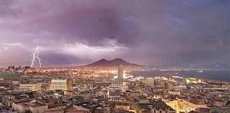 Meteo Napoli, temporali