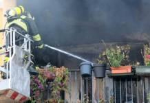 Vico Equense: 70enne minaccia la famiglia e appicca un incendio in casa