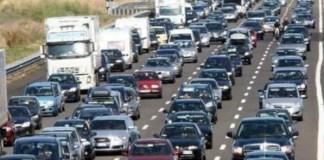 Incidente stradale sull'A3: forti disagi, traffico in tilt