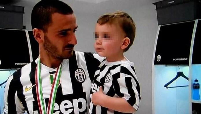 """Il figlio di Leonardo Bonucci sta bene, i napoletani: """"Forza Matteo"""""""