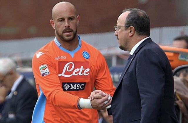 Calciomercato Napoli: Benitez mette gli occhi su Reina