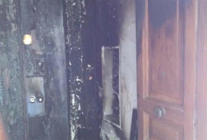 Rione Sanità, incendiata la casa dello scritto Diego Nuzzo