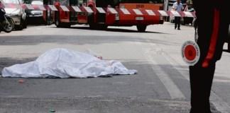 Trovato il cadavere di un uomo lungo l'Asse Mediano