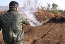 Caserta, gas tossici dal sottosuolo: scoperta discarica abusiva