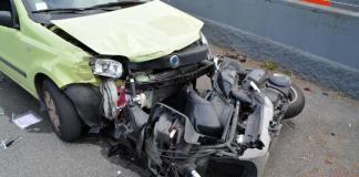 Incidente stradale sull'Appia: un fertio e una vittima