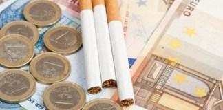 Sigarette, aumento di prezzo vertiginoso per ogni pacchetto