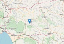 Terremoto oggi, Salerno: scossa di magnitudo 2.1