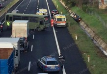 Incidente sull'autostrada A1: video diretta del consigliere Borrelli