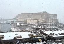 La neve a Napoli incanta tutti: le foto di Alessandro Gassmann