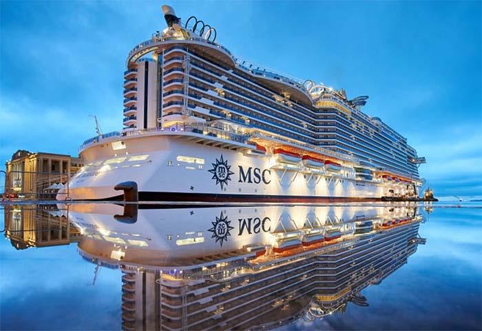 Inaugurata MSC Seaview, la nave da crociera più grande d'Italia