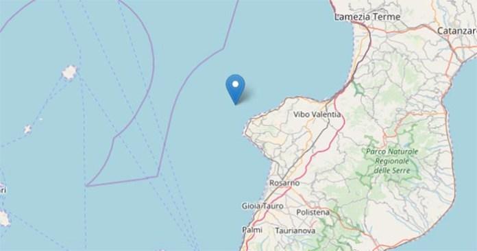 Terremoto oggi, Calabria: registrata scossa di magnitudo 4.4