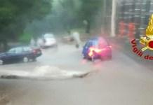 Maltempo Campania: bombe d'acqua e nubifragio ad Avellino