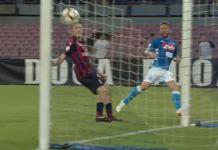 Napoli - Milan: entrambe le società multate a vario titolo