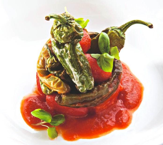 Ricetta dei friggitelli con pomodorini di Antonino Cannavacciuolo