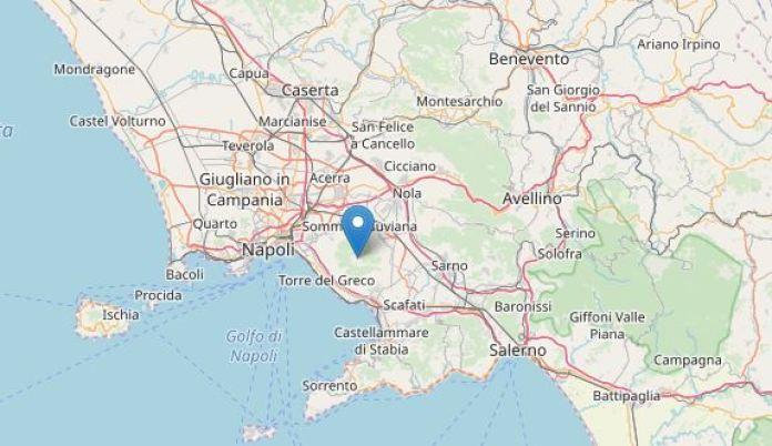 Terremoto oggi: scossa registrata sul cratere del Vesuvio