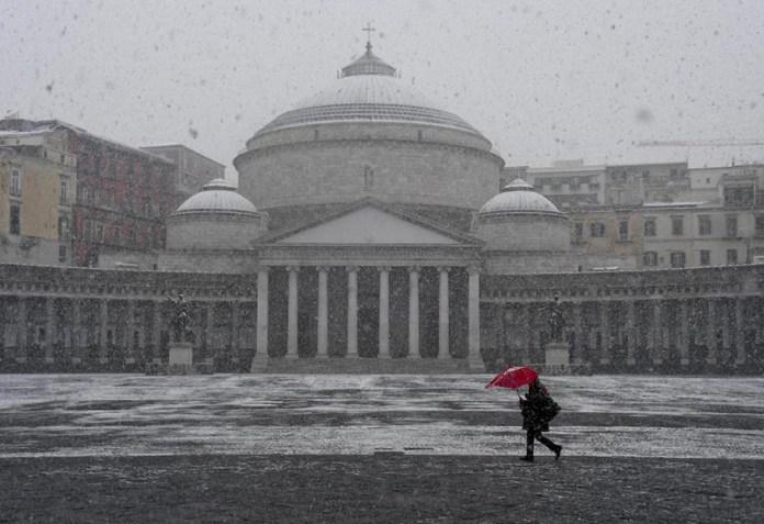 Meteo Napoli: in arrivo gelo e neve