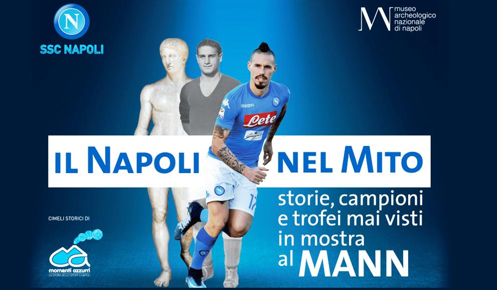 'Il Napoli nel mito- storie, campioni e trofei mai visti, in mostra al MANN'