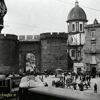 Napoli,p.za San Francesco, linea Atan e Tpn