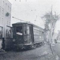tram della Tpn alla Doganella-altezza Salesiani