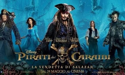 """""""Pirati dei Caraibi – La vendetta di Salazar"""": ancora in mare con Jack Sparrow"""