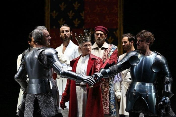 Richard II: grande successo per lo spettacolo di Peter Stein