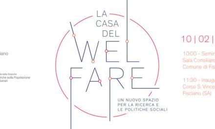 Fisciano –Salerno – si inaugura la casa del welfare, un passo in avanti per la Campania