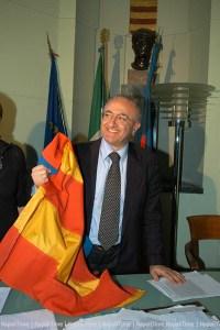 Salerno 12-06-06 Vincenzo De Luca eletto sindaco  foto Massimo Pica