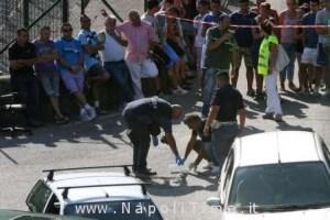SAL - 10 08 2013 Cava de' Tirreni, località Campo San Pietro, ventenne muore dallo scoppio di un ordigno    Foto Tanopress