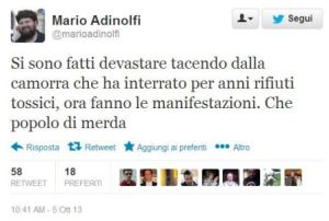 tweet mario adinolfi