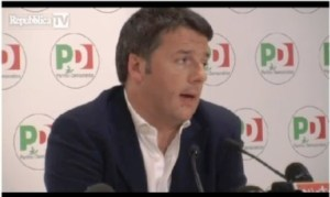 conferenza stampa renzi