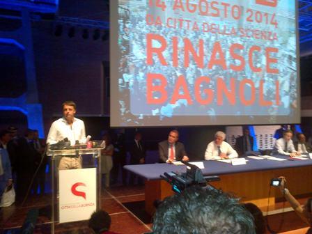 Matteo Renzi a CdS