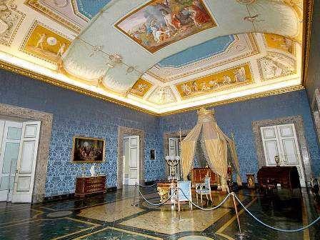 Reggia-Camera-da-letto-di-Francesco-II