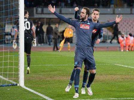 Soccer: Europa League; Napoli-Dinamo Mosca